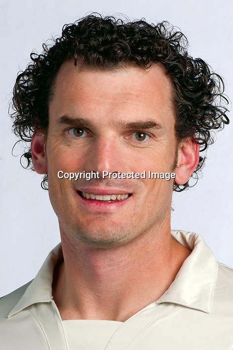 Kyle Mills. New Zealand Black Caps cricket headshots. 2011/12 season. Photo: NZ Cricket