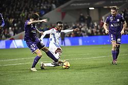 January 16, 2019 - Toulouse, France - Maxwel Cornet (ol) vs Jimmy Durmaz  (Credit Image: © Panoramic via ZUMA Press)