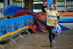 24-06-2017 NED: Start Homeside & Homerun, Utrecht<br /> Vanaf de Domplein startte de HomeRide en Homerun. Een 500km en 200 km event in 24 uur. Marloes Wesselink