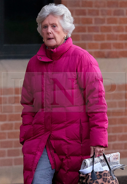 &copy; Licensed to London News Pictures. <br /> 03/01/2017. <br /> Middlesbrough, UK.  <br /> <br /> Lady SUSAN ZETLAND, of the Zetland Estate, north of Richmond, arrives at Teesside Crown Court after being charged with dangerous driving following a crash on the A66 in July 2016.<br /> <br /> The 76-year-old, whose family owns 12,000 acres of North Yorkshire was behind the wheel of her &pound;30,000 Subaru Outback 4X4 when it was involved in a collision with two HGVs and another car. <br /> <br /> Photo credit: Ian Forsyth/LNP