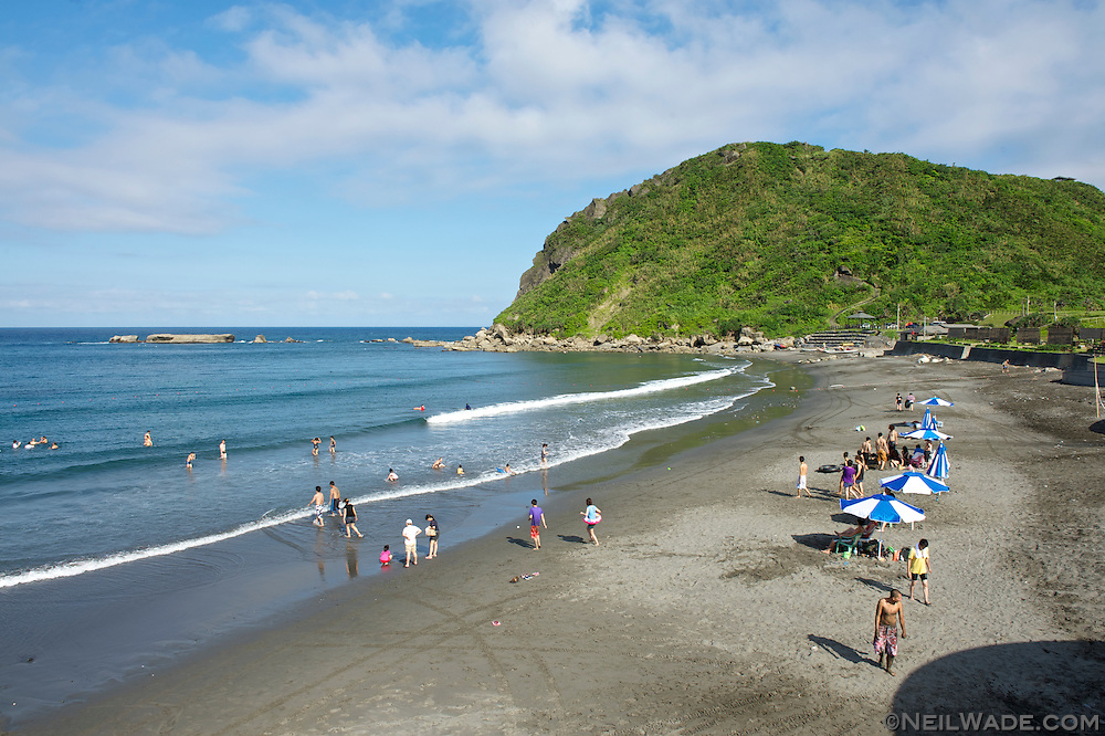 Jici Beach on Highway 11 on Taiwan's beautiful east coast.