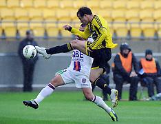 Wellington-Football, A-League, Perth Glory v Phoenix
