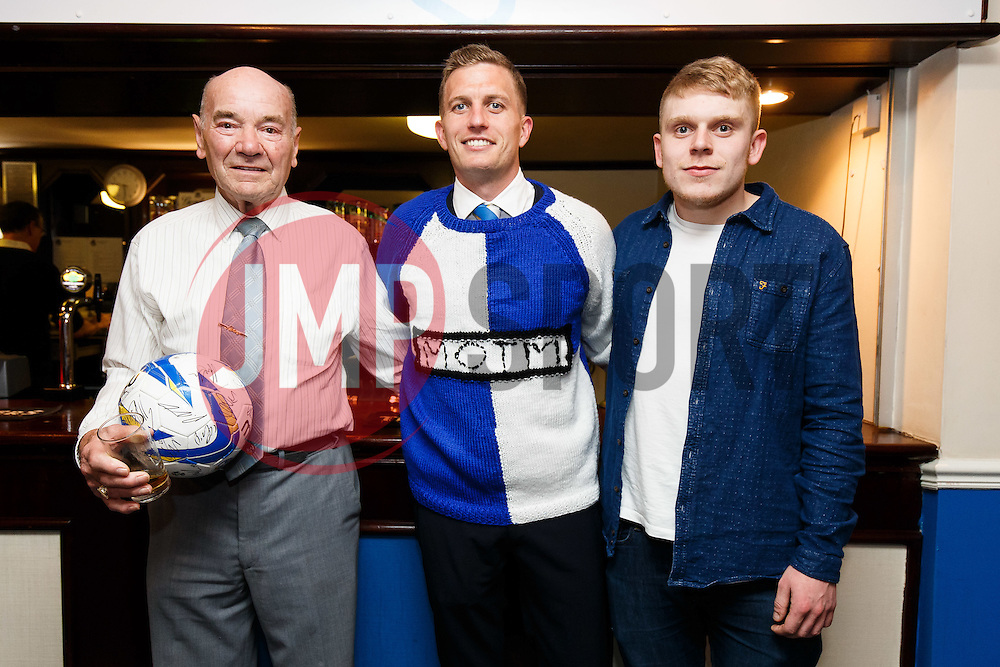 Man of the Match presentations to Lee Mansell of Bristol Rovers - Photo mandatory by-line: Rogan Thomson/JMP - 07966 386802 - 03/04/2015 - SPORT - FOOTBALL - Bristol, England - Memorial Stadium - Bristol Rovers v Chester - Vanarama Conference Premier.