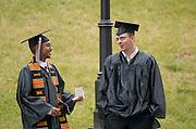 17716Undergraduate Commencement 2006...Clarence Gaines, Richard Reddrop