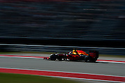 October 21, 2016: United States Grand Prix. Max Verstappen, Red Bull