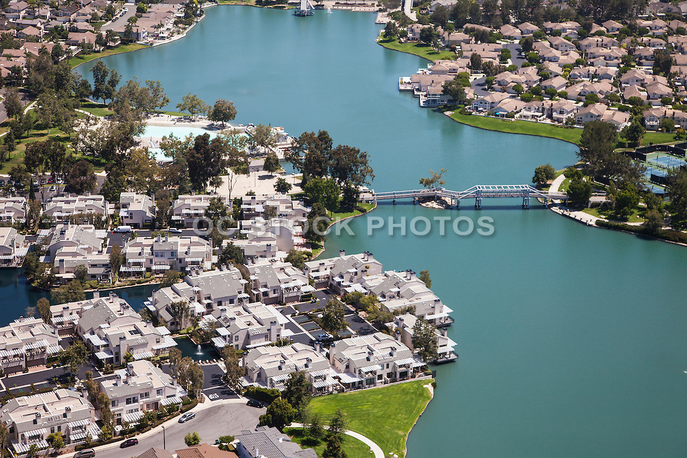 South Lake of Woodbridge in Irvine California
