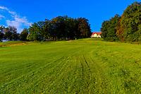 Golf course, Schlosshotel Fleesensee (castle hotel), Fleesensee, Germany