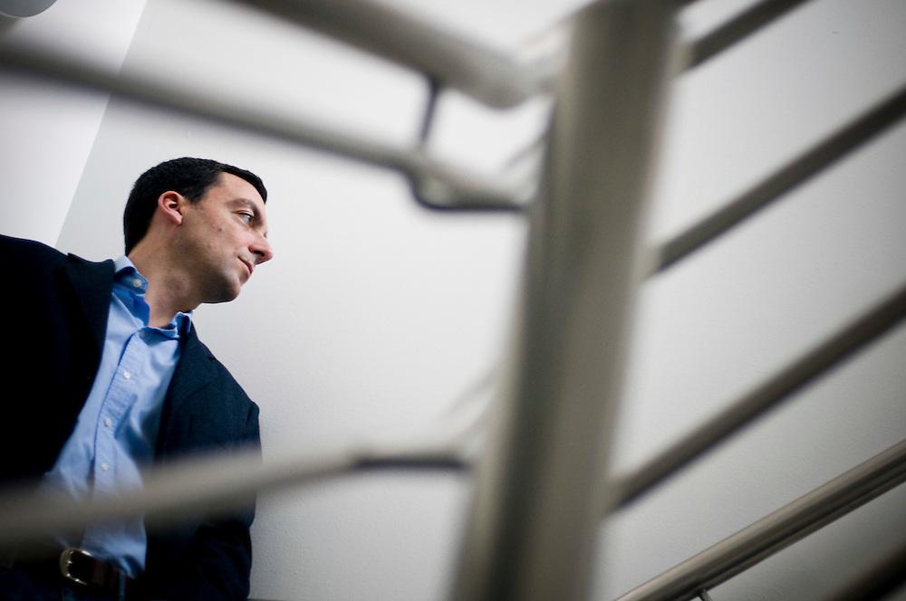 Portrait of 3 UK's sales director Marc Allera..Photographer: Chris Maluszynski /MOMENT
