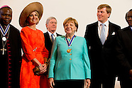 Four Freedoms Awards met angela merkel