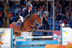 Egberink Bjorn (NED) - Cuidame<br /> 6 jarige Springpaarden<br /> KWPN Paardendagen Ermelo 2013<br /> © Dirk Caremans