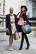 Miss Haiti and Miss Venezuela arrive as two of the 121 contestants in London for the 63rd Miss World competition