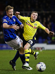 Rochdale's Jamie Allen attacks - Photo mandatory by-line: Matt McNulty/JMP - Mobile: 07966 386802 - 24/03/2015 - SPORT - Football - Oldham - Boundary Park - Oldham Athletic v Rochdale - SkyBet League 1