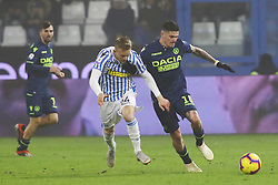 "Foto /Filippo Rubin<br /> 26/12/2018 Ferrara (Italia)<br /> Sport Calcio<br /> Spal - Udinese - Campionato di calcio Serie A 2018/2019 - Stadio ""Paolo Mazza""<br /> Nella foto: RODRIGO DE PAUL (UDINESE)<br /> <br /> Photo /Filippo Rubin<br /> December 26, 2018 Ferrara (Italy)<br /> Sport Soccer<br /> Spal vs Udinese - Italian Football Championship League A 2018/2019 - ""Paolo Mazza"" Stadium <br /> In the pic: RODRIGO DE PAUL (UDINESE)"