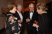 Mr. and Mrs. Stanley Johnson, John and Dame Norma Major. National Portrait Gallery  150th Anniversary Fundraising Gala. National Portrait Gallery. London. 28 February 2006. ONE TIME USE ONLY - DO NOT ARCHIVE  © Copyright Photograph by Dafydd Jones 66 Stockwell Park Rd. London SW9 0DA Tel 020 7733 0108 www.dafjones.com