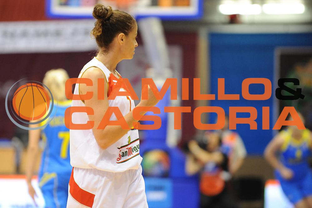 DESCRIZIONE : Liepaja Latvia Lettonia Eurobasket Women 2009 Spagna Ucraina Spain Ukraine<br /> GIOCATORE : Isabel Sanchez<br /> SQUADRA : Spagna Spain<br /> EVENTO : Eurobasket Women 2009 Campionati Europei Donne 2009 <br /> GARA : Spagna Ucraina Spain Ukraine<br /> DATA : 08/06/2009 <br /> CATEGORIA : esultanza<br /> SPORT : Pallacanestro <br /> AUTORE : Agenzia Ciamillo-Castoria/M.Marchi<br /> Galleria : Eurobasket Women 2009 <br /> Fotonotizia : Liepaja Latvia Lettonia Eurobasket Women 2009 Spagna Ucraina Spain Ukraine<br /> Predefinita :