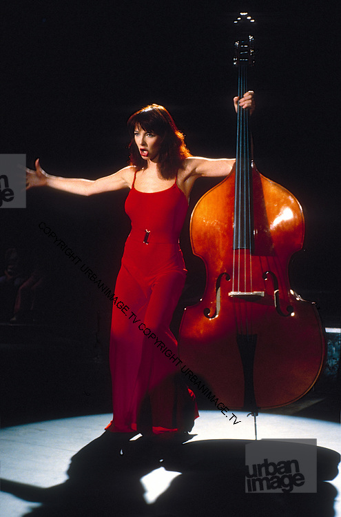 Kate Bush during 1980 video shoot