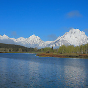 Grand Tetons - Oxbow Bend, WY