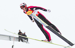 16.12.2011, Casino Arena, Seefeld, AUT, FIS Nordische Kombination, Ski Springen Team HS 109, im Bild Mario Stecher (AUT) // Mario Stecher of Austria during Ski jumping the team competition at FIS Nordic Combined World Cup in Sefeld, Austria on 20111211. EXPA Pictures © 2011, PhotoCredit: EXPA/ P.Rinderer