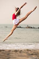 Dance As Art Photography Project- Coney Island Brooklyn, New York with ballerina Erin Aslami.