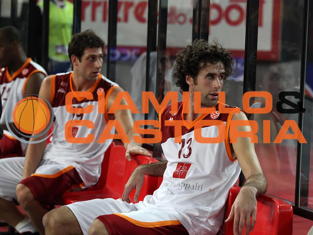 DESCRIZIONE : Roma Eurolega 2010-11 Top 16 Lottomatica Virtus Roma Union Olimpija Lubiana<br /> GIOCATORE : Vladimir Dasic Luigi Datome<br /> SQUADRA : Lottomatica Virtus Roma <br /> EVENTO : Eurolega 2010-2011<br /> GARA : Lottomatica Virtus Roma Union Olimpija Lubiana<br /> DATA : 20/01/2011<br /> CATEGORIA : ritratto delusione<br /> SPORT : Pallacanestro <br /> AUTORE : Agenzia Ciamillo-Castoria/ElioCastoria<br /> Galleria : Eurolega 2010-2011<br /> Fotonotizia : Roma Eurolega 2010-11 Top 16 Lottomatica Virtus Roma Union Olimpija Lubiana<br /> Predefinita :