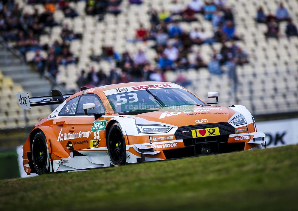 October 13, 2017 - Hockenheim, Germany - Motorsports: DTM Hockenheim-II 2017,.Hoffmann Group Audi RS 5 DTM #53 (Audi Sport Team Rosberg), Jamie Green  (Credit Image: © Hoch Zwei via ZUMA Wire)