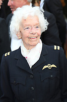 Mary Ellis, 101 year old WW2 Air Transport Auxiliary (ATA) pilot, Spitfire - World Premiere, Curzon Mayfair, London, UK, 09 July 2018, Photo by Richard Goldschmidt