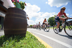 Nikki Brammeier on Stage 2 of the Giro Rosa - a 122.2 km road race, between Zoppola and Montereale Valcellina on July 1, 2017, in Pordenone, Italy. (Photo by Sean Robinson/Velofocus.com)