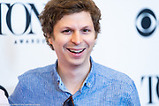Michael Cera, 2018 Tony Award Nominee, in New York City on May 2, 2018