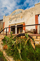 Starlight Theatre Restaurant and Bar, Terlingua Ghosttown, near Big Bend National Park, Texas USA.