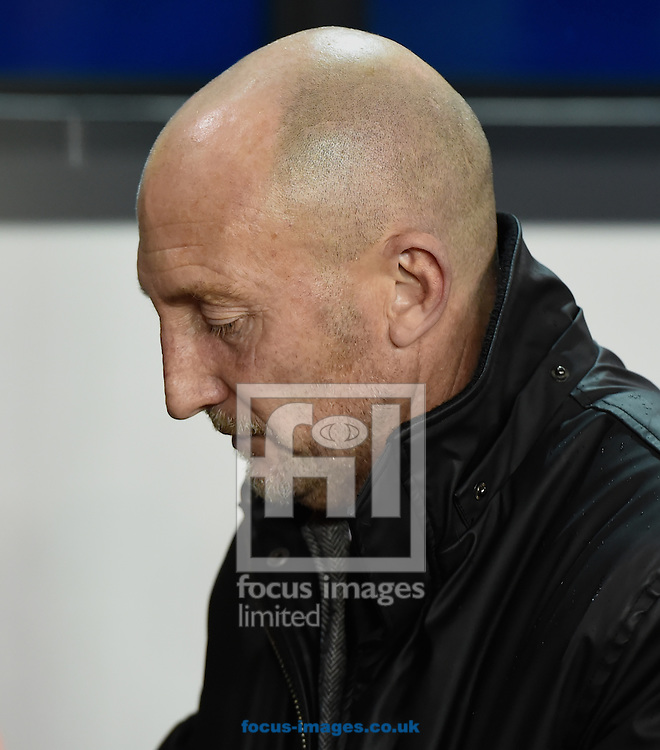 Manager Ian Holloway of Millwall during the Sky Bet Championship match at The Den, London<br /> Picture by Alan Stanford/Focus Images Ltd +44 7915 056117<br /> 04/11/2014