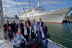 """12-09-2019 NED: Kick-off European Volleyball Men's Championship, Rotterdam<br /> Kick-off for the European Volleyball Men's Championship at the Sailing Ship """"Eendracht"""" with The CEV board, municipal officials of the playing cities, Nevobo and Topsport Rotterdam / CEV"""