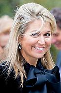 DOORN - Queen Maxima attends the meeting More Opportunities of the Orange Fund. The program offers more opportunities for young people. copyirght robin utrecht