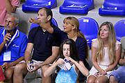 DESCRIZIONE : Cagliari Qualificazione Eurobasket 2015 Qualifying Round Eurobasket 2015 Italia Svizzera Italy Switzerland<br /> GIOCATORE : Nando Gentile Maria Vittoria Gentile<br /> CATEGORIA : Vip<br /> EVENTO : Cagliari Qualificazione Eurobasket 2015 Qualifying Round Eurobasket 2015 Italia Svizzera Italy Switzerland<br /> GARA : Italia Svizzera Italy Switzerland<br /> DATA : 17/08/2014<br /> SPORT : Pallacanestro<br /> AUTORE : Agenzia Ciamillo-Castoria/Max.Ceretti<br /> Galleria: Fip Nazionali 2014<br /> Fotonotizia: Cagliari Qualificazione Eurobasket 2015 Qualifying Round Eurobasket 2015 Italia Svizzera Italy Switzerland<br /> Predefinita :