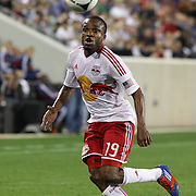 New York Red Bulls player Dane Richards in action during the New York Red Bulls V Chivas USA Major League Soccer match at Red Bull Arena, Harrison, New Jersey, 23rd May 2012. Photo Tim Clayton