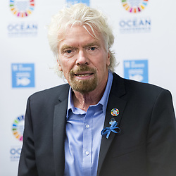 June 8, 2017 - New York, NY, U.S - RICHARD BRANSON at the UN Ocean Conference at the United Nations in New York City on June 8, 2017 (Credit Image: © Michael Brochstein via ZUMA Wire)