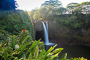 Rainbow Falls, Hilo, The Big Island of Hawaii