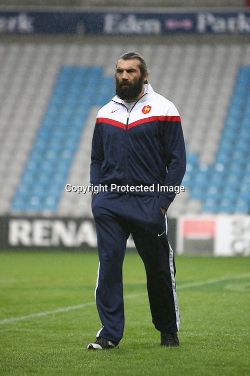 Rugby : France / Fidji - Test Match Tournee d Automne - 13.11.2010 - Sebastien Chabal (France) *** Local Caption *** 00042416