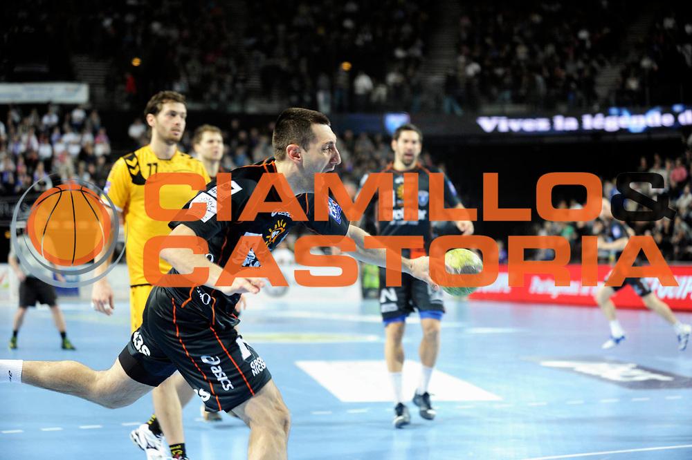 DESCRIZIONE : France Hand D1 Championnat de France D1 a Montpellier Park Suite Arena<br /> GIOCATORE : Gajic Dragan<br /> SQUADRA : Montpellier<br /> EVENTO : FRANCE Hand D1<br /> GARA : Montpellier Chambery<br /> DATA : 01/03/2012<br /> CATEGORIA : Hand D1 <br /> SPORT : Handball<br /> AUTORE : JF Molliere <br /> Galleria : France Hand 2011-2012 Action<br /> Fotonotizia : France Hand D1 Championnat de France D1 a Montpellier<br /> Predefinita :