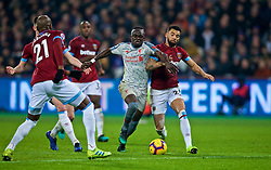 LONDON, ENGLAND - Monday, February 4, 2019: Liverpool's Sadio Mane during the FA Premier League match between West Ham United FC and Liverpool FC at the London Stadium. (Pic by David Rawcliffe/Propaganda)