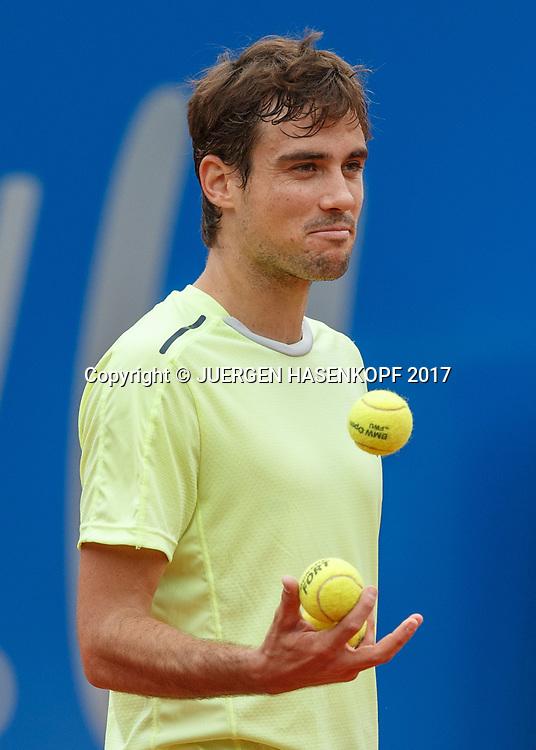 GUIDO PELLA (ARG)<br /> <br /> Tennis - BMW Open 2017 -  ATP  -  MTTC Iphitos - Munich -  - Germany  - 4 May 2017.