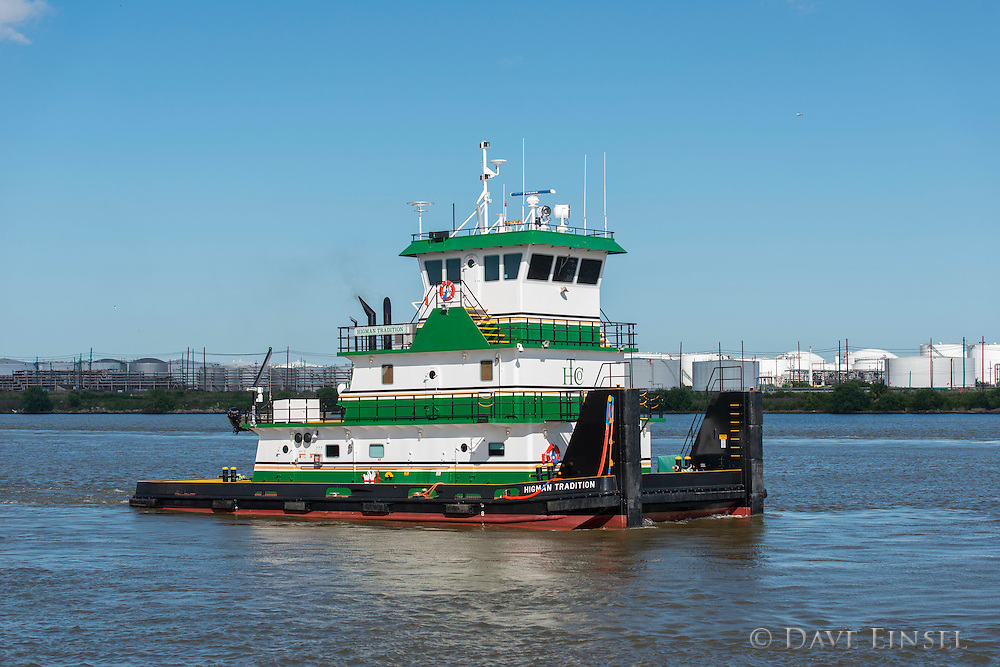 The M/V Higman Tradition at the Higman Marine Services, Inc. Penninsula dock, July 14, 2015.