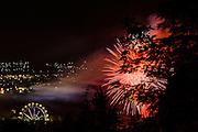 03 novembre 2013- Focs artificials fires de Sant Narcis de Girona. FOTOGRAFIES DE TONI VILCHES.