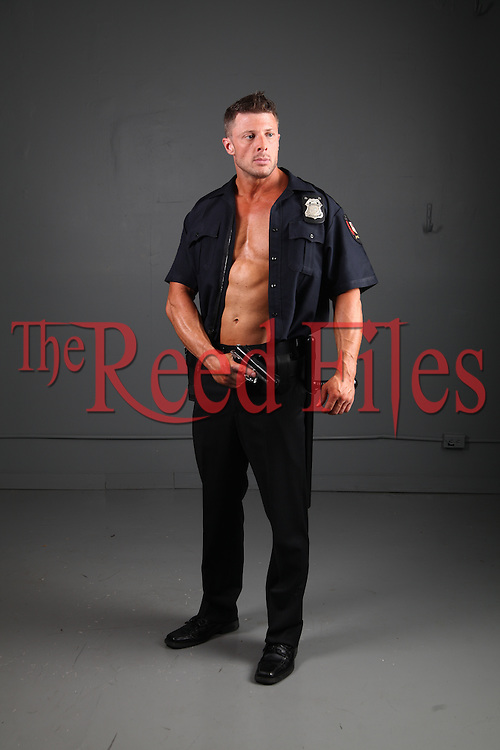 Man in police uniform