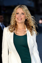 Melinda Messenger arrives for the UK premiere of the film 'Noah', Odeon, London, United Kingdom. Monday, 31st March 2014. Picture by Chris Joseph / i-Images