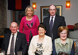 Pictured at the past pupils reunion of Rossduane N.S. Kilmeena that took place in the Clew Bay Hotel recently were Una Geraghty, Sean Gibbons,.Sitting Sean Kenning, Mary Kenning and Carmel Foy...Pic Conor Mckeown