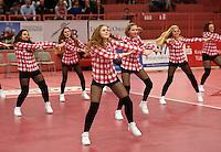Volleyball Saison 2015/2016  14.02.2016 1. Volleyball Bundesliga  TV Rottenburg - SWD powervolleys Dueren  Halbzeitshow mit der Tanzgruppe Independent Steps