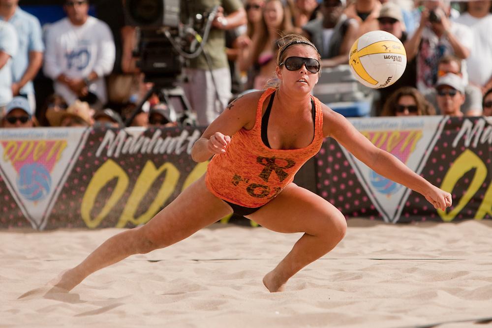 Manhattan Beach, CA - 2013 08.  Brooke Sweat. Photo by Wally Nell