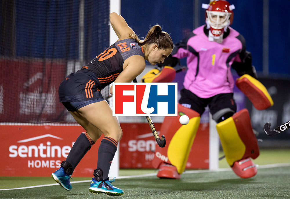 AUCKLAND - Sentinel Hockey World League final women<br /> Match id: 10305<br /> 16 NED v CHina (QF)<br /> Foto:  Kelly Jonker <br /> WORLDSPORTPICS COPYRIGHT FRANK UIJLENBROEK