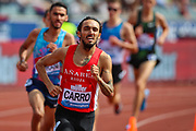 Fernando CARRO of Spain in the Men's 3000m Steeplechase during the Muller Grand Prix 2018 at Alexander Stadium, Birmingham, United Kingdom on 18 August 2018. Picture by Toyin Oshodi.
