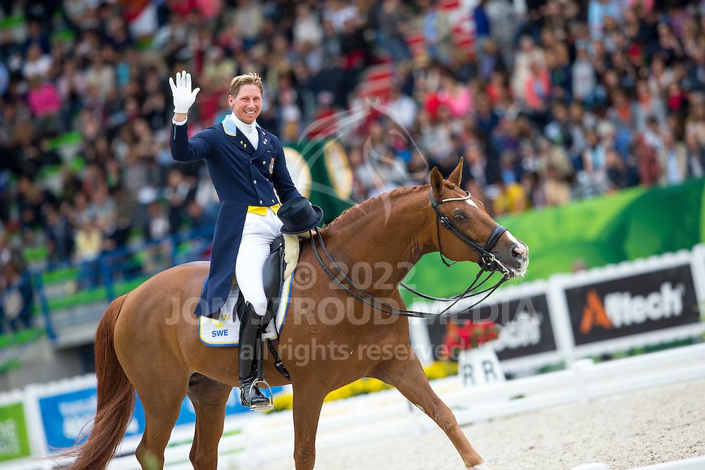 Patrick Kittel, (SWE), Watermill Scandic HBC - Grand Prix Special Dressage - Alltech FEI World Equestrian Games&trade; 2014 - Normandy, France.<br /> &copy; Hippo Foto Team - Leanjo de Koster<br /> 25/06/14